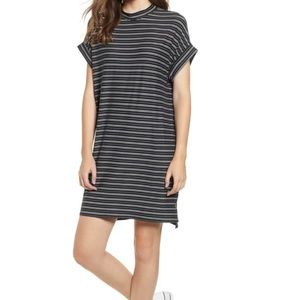 Cotton Emporium Black Stripe Sneaker Dress